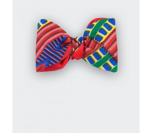 Noeud papillon Wax Rouge - Cinabre Paris