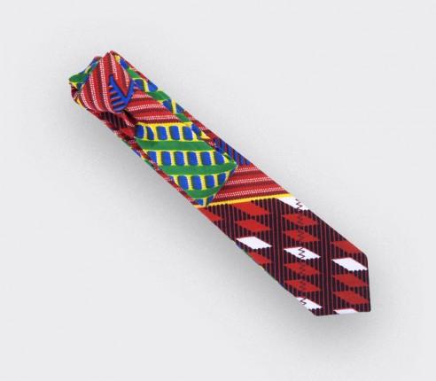 Cravate wax rouge - Cinabre Paris