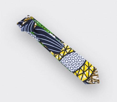 Cravate wax vert - Cinabre Paris
