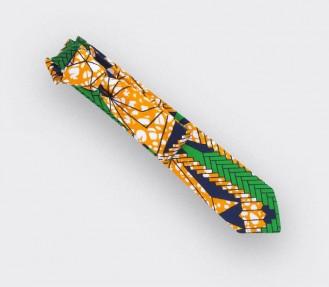 Cravate wax orange - Cinabre Paris