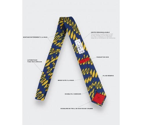 Yellow Wax Tie - Cinabre Paris