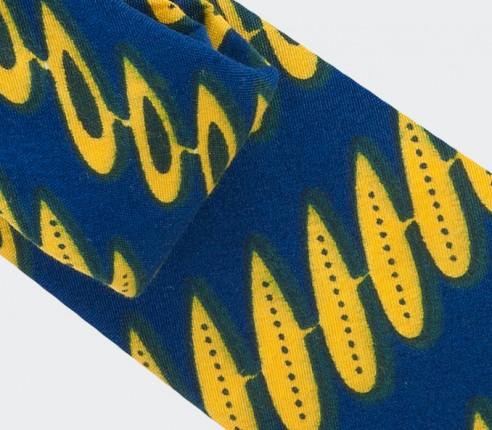 Cravate wax jaune - Cinabre Paris
