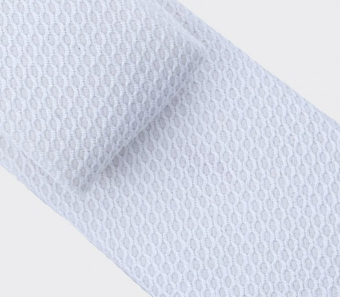Tie - Nid d'Abeille blanche - cinabre paris