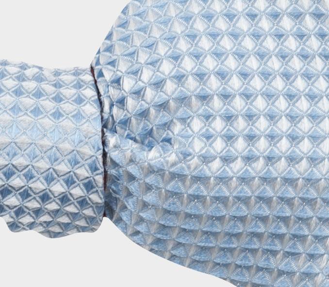 CINABRE Paris - Nœud Papillon - 3D Été Blanc - Made in France