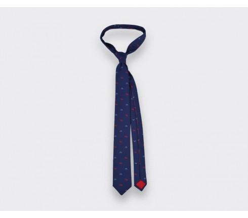 Navy Sledge tie - cinabre paris