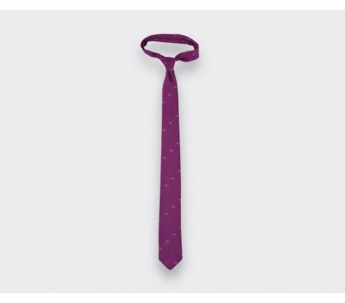Fuchsia Sledge tie - cinabre paris