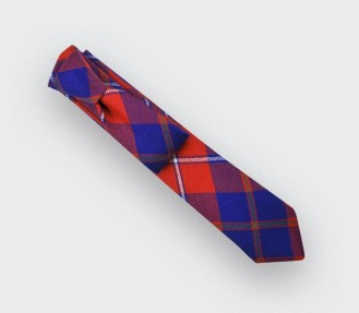 cravate tartan rouge galloway - cinabre paris