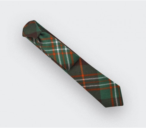 cravate tartan vert Scott - cinabre paris
