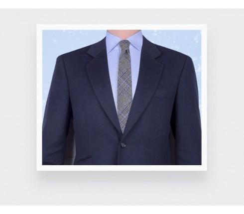 Blue glen plaid tie - cinabre paris