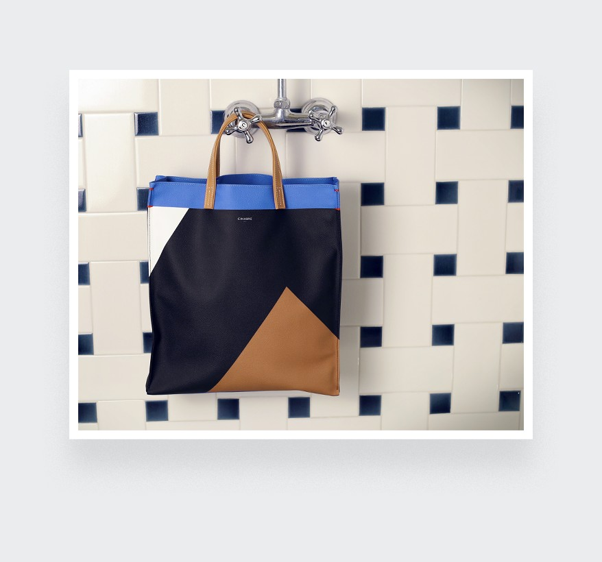 tote bag men's paris by Cinabre
