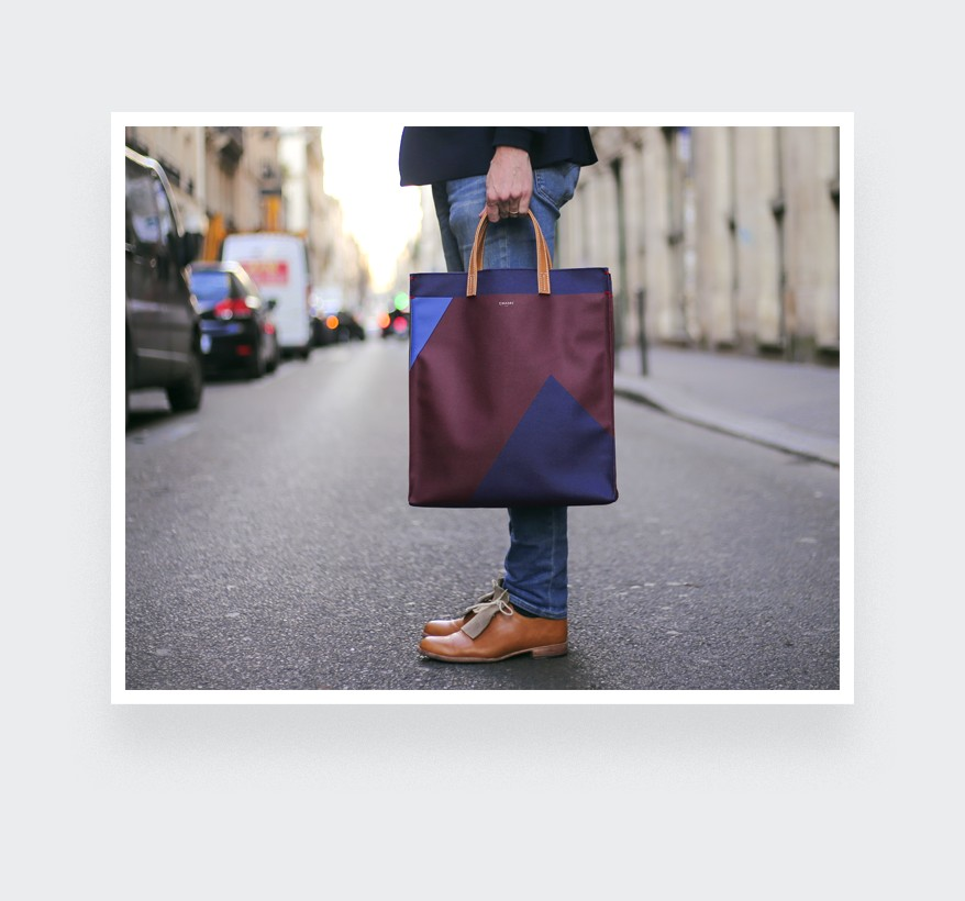 Burgundy Hauteville Bag