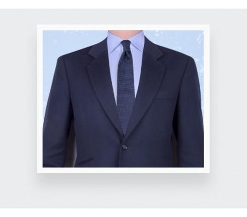 Blue Birdseye silk Tie - cinabre paris