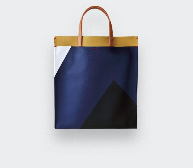 Navy Blue Hauteville Bag
