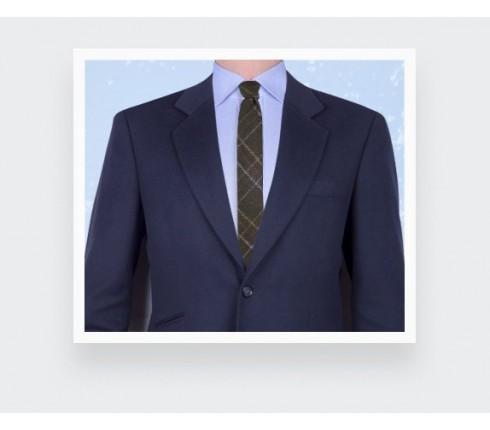 Tweed Green Squares Tie - cinabre paris