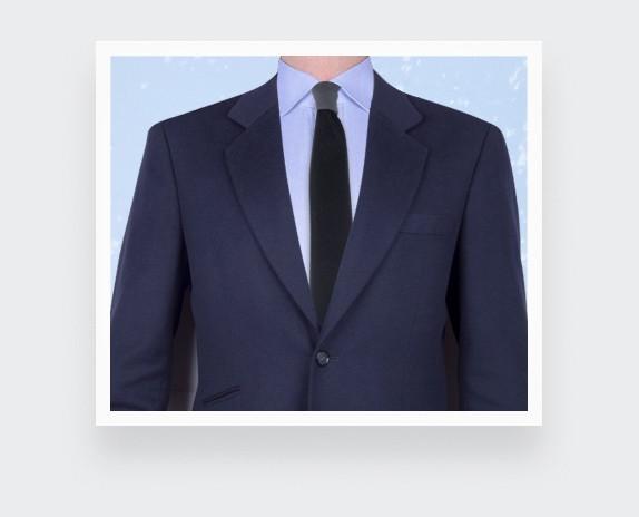 tie black silk velvet - cinabre paris