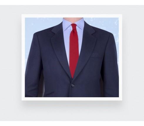 Blue Woven Silk Tie - silk - Cinabre Paris