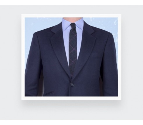 Fuchsia Flannel windowspane tie - cinabre paris