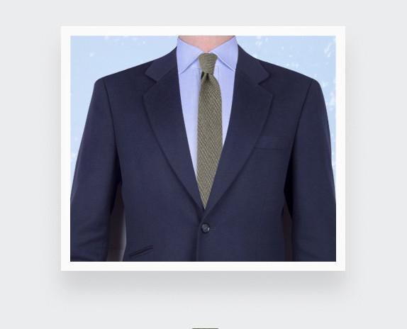 Cravate cachemire Cinabre Vert - cinabre paris