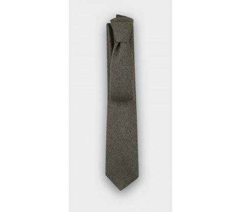 Green Cinabre cashmere tie - cinabre paris