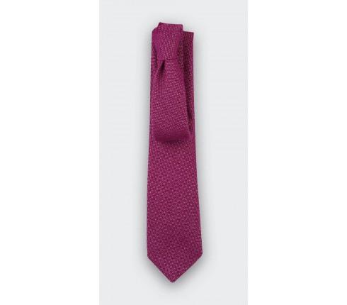 Fuchsia Cinabre cashmere tie - cinabre paris