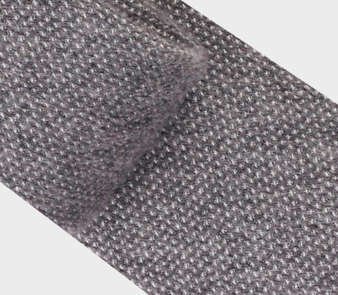 Cravate cachemire Cinabre gris - cinabre paris