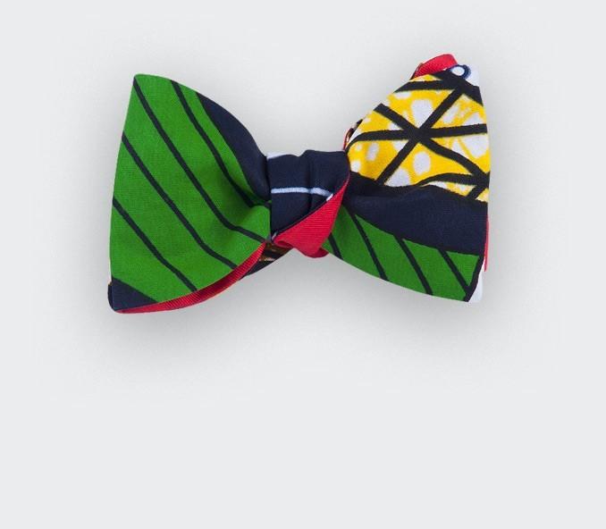 Noeud Papillon Wax Vert - Cinabre Paris