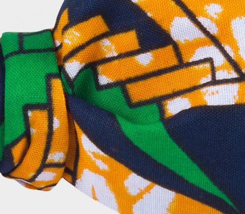 Orange Wax Bow Tie - cinabre paris