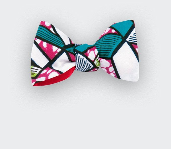 Noeud papillon Wax Blanc - cinabre paris