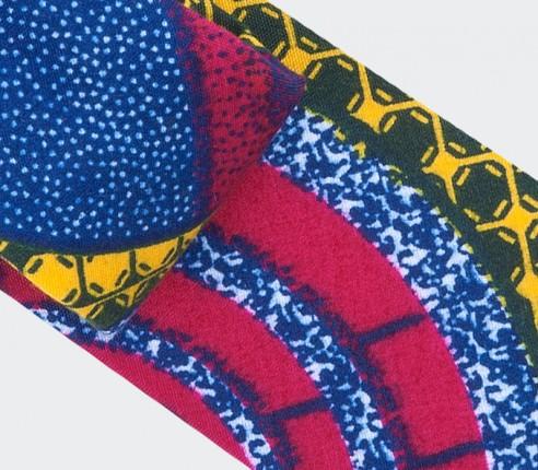 Fuchsia Wax Tie - cinabre paris