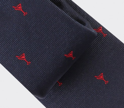 Navy Blue cocktail tie - cinabre paris