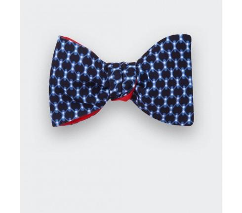 Light blue graphic Bow Tie - cinabre paris