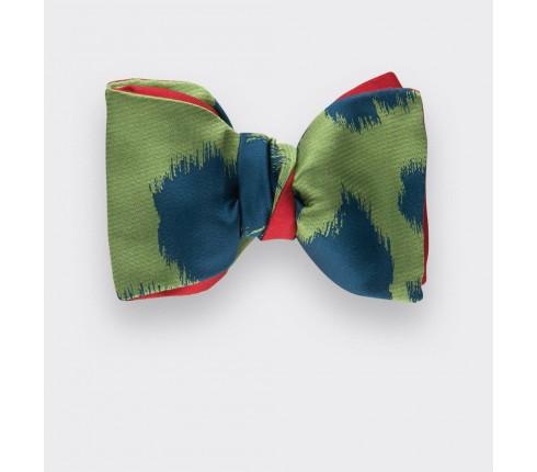 Noeud papillon boyceau vert - cinabre paris