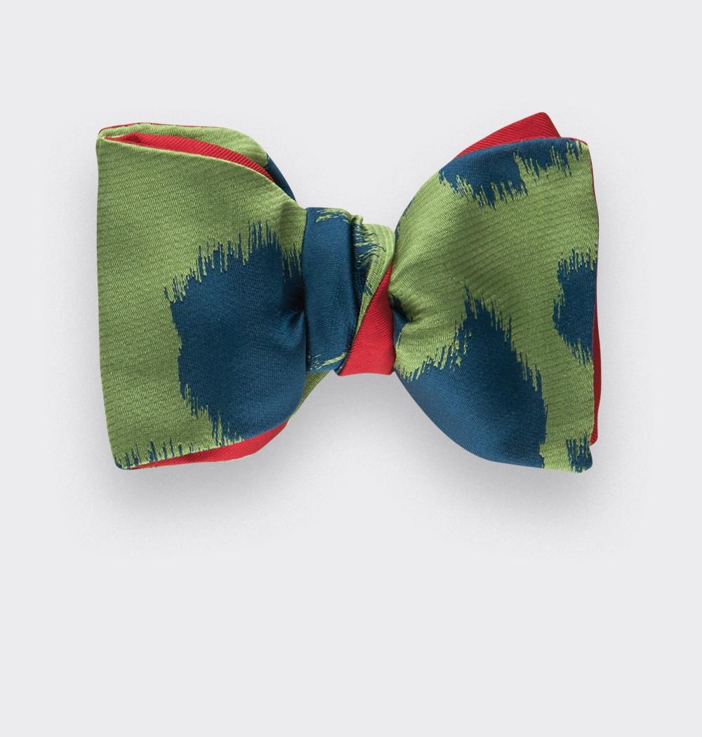 Green boyceau Bow Tie - cinabre paris