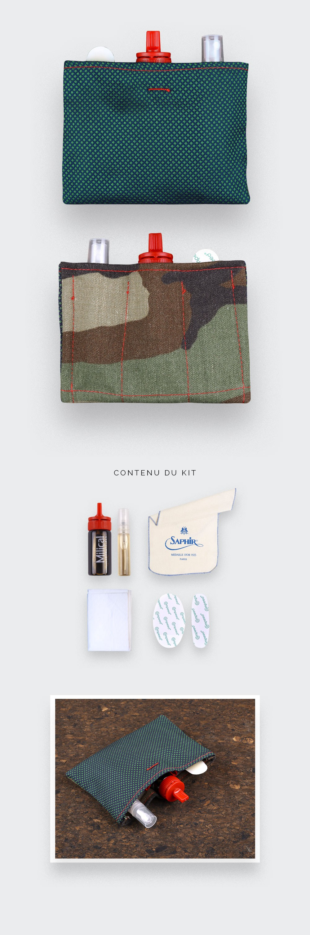 the groom kit for the d day - Cinabre Paris