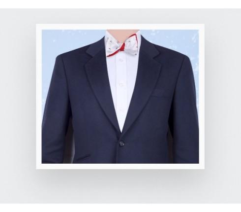 white cocktail bow tie - cinabre paris