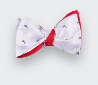 noeud papillon cocktail blanc - cinabre paris
