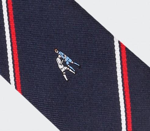 Cravate Zizou - Soie - Cinabre Paris