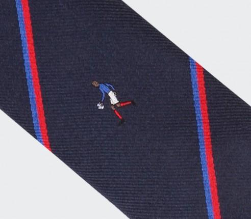 Cravate La Main de Dieu - Soie - Cinabre Paris
