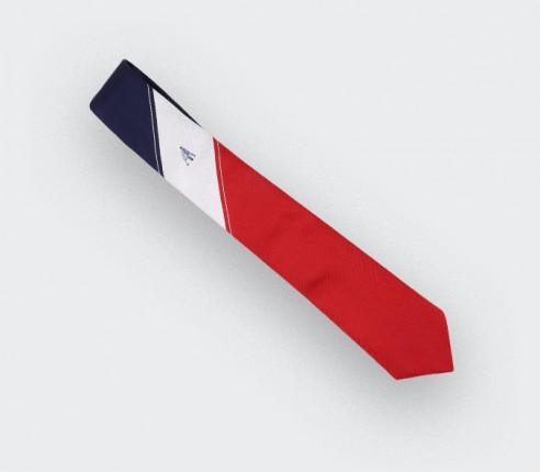 Cravate Graphique Zizou - Soie - Cinabre Paris