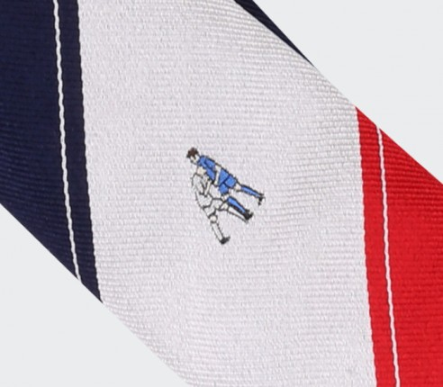 Graphic Zidane Tie - Silk - Cinabre Paris