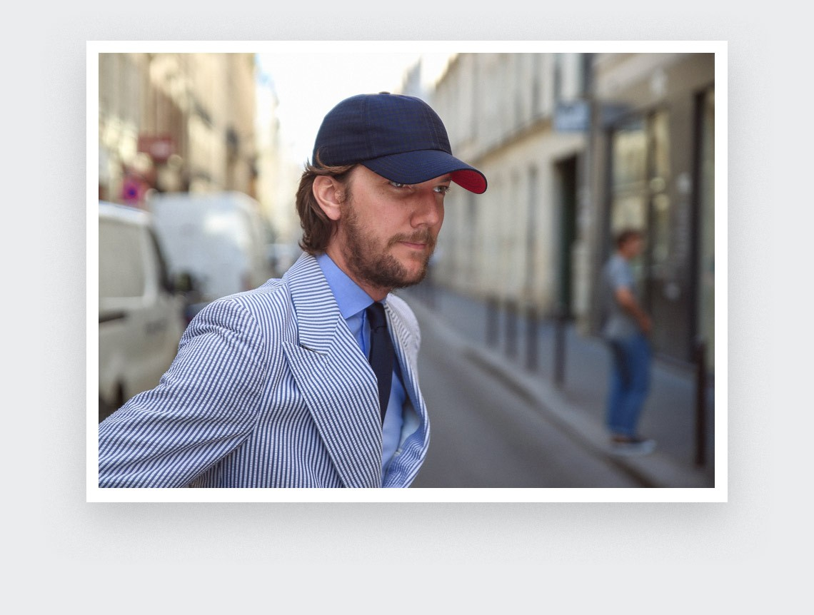 Cinabre cap Marlon n°1 made of silk and wool