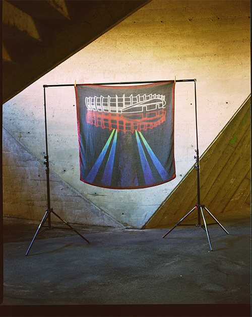 Foulard UFO PSG X CINABRE