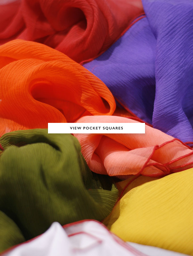 Discover the collection of pocket squares