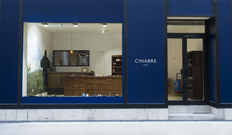 Cinabre store in Paris