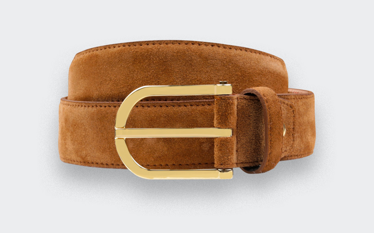 Cinabre leather belts